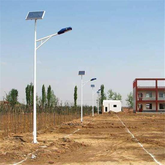 6米河南A字臂新农村太阳能路灯