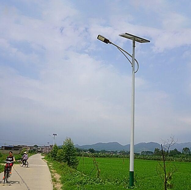 河南太阳能灯农村5米海螺臂
