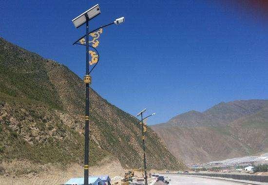 河南太阳能路灯造型灯系列实拍