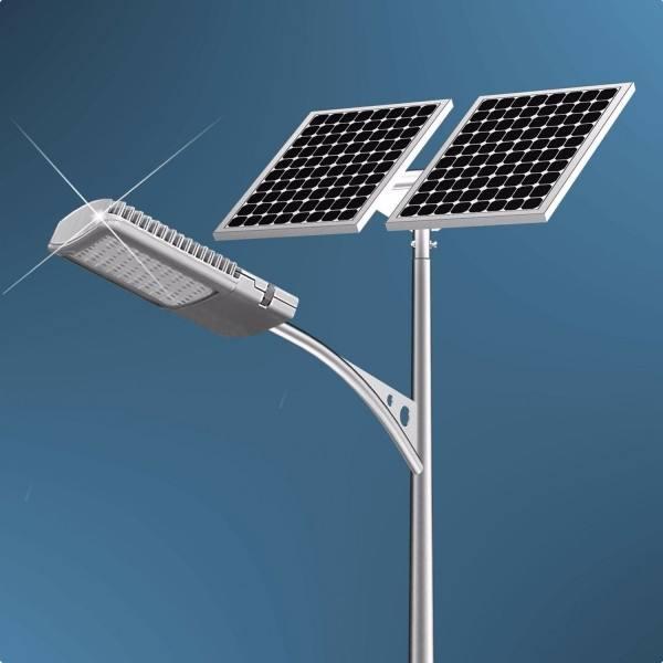 河南太阳能路灯30W灯型安装