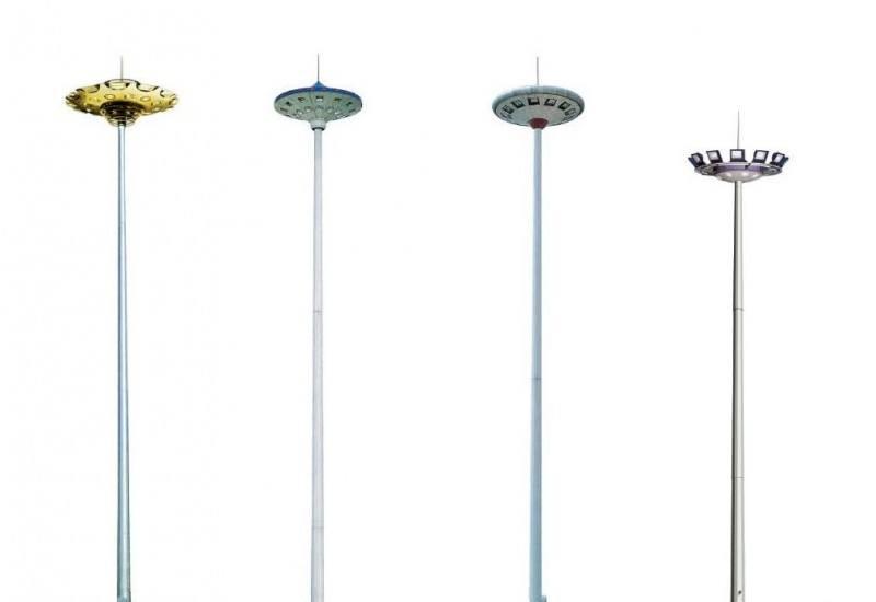 郑州高杆灯维护现场