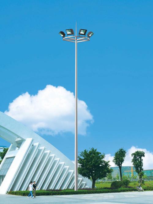 郑州高杆灯插接现场实拍