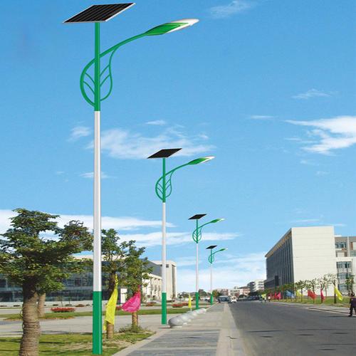 河南太阳能路灯树叶臂造型灯