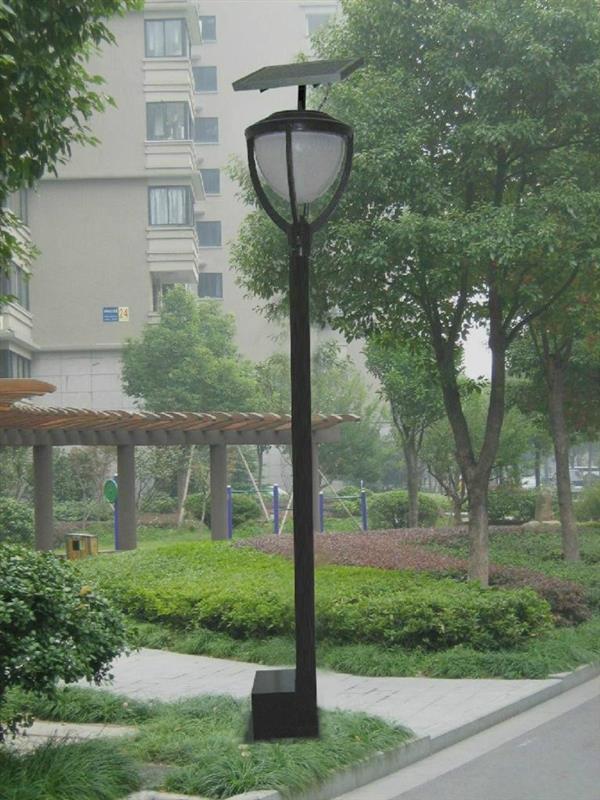 河南太阳能庭院灯球形罩