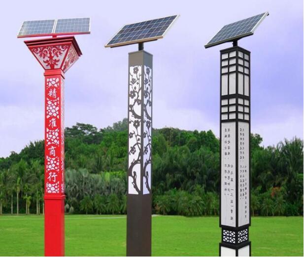 河南太阳能景观灯方形管