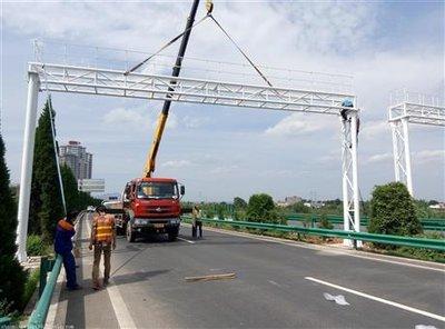 河南省高速路龙门架