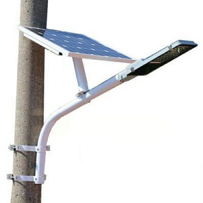 抱箍臂太阳能路灯