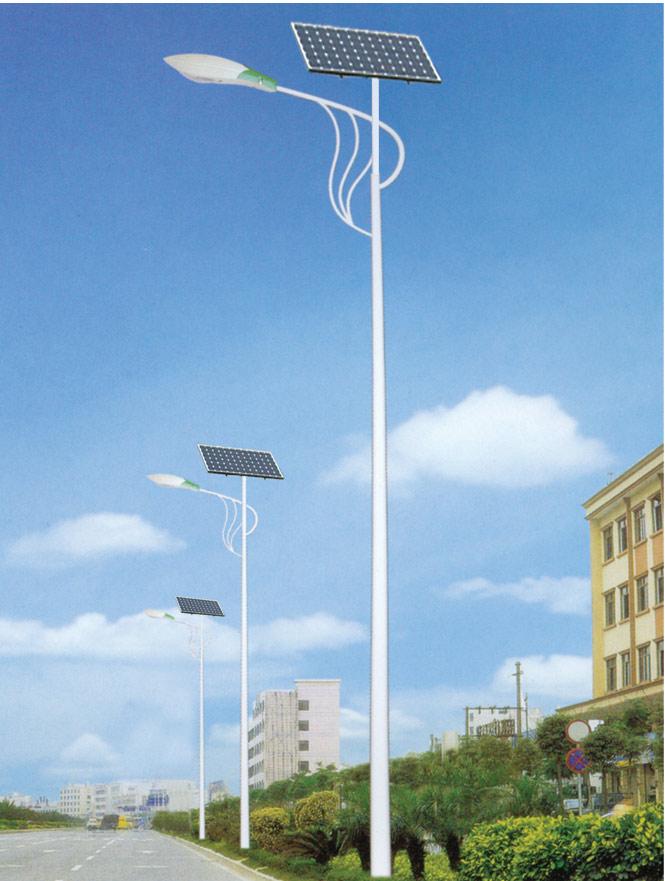 河南太阳能路灯特殊造型灯臂款