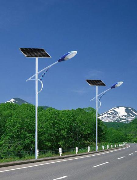 手状臂飞机灯头太阳能路灯