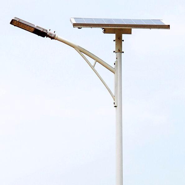 河南太阳能路灯生产厂家生产的A字臂太阳能路灯