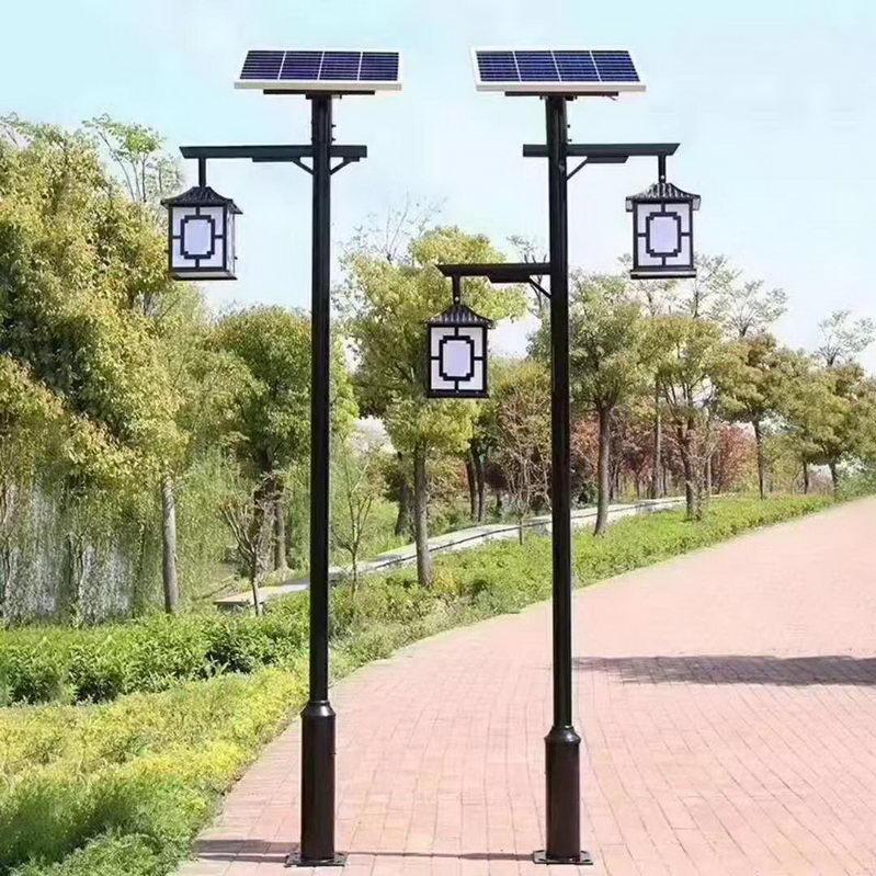仿古经典款太阳能庭院灯