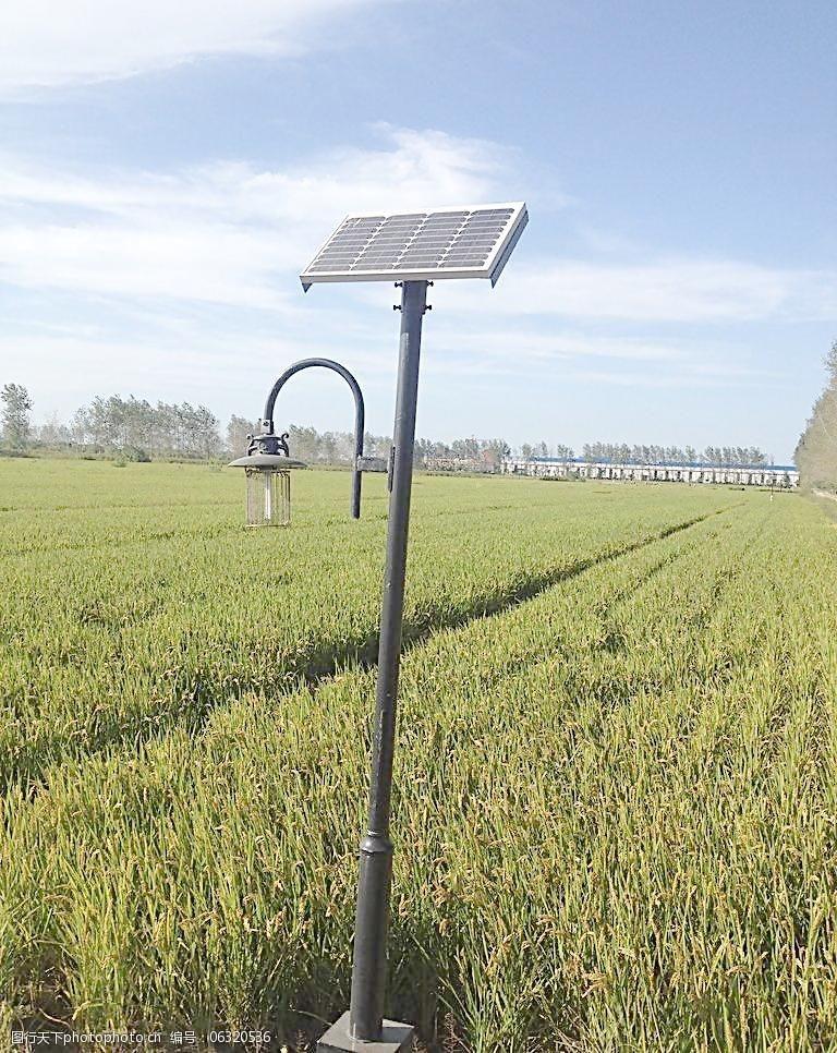 4米LED太阳能庭院灯