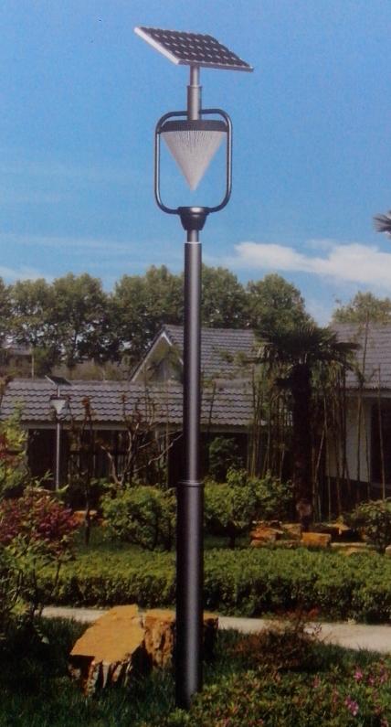 6米太阳能庭院路灯