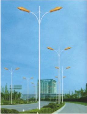河南省郑州市12米双臂路灯