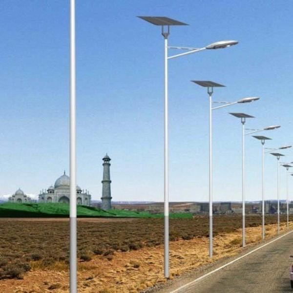 遥控控制的河南省郑州市郊区太阳能路灯