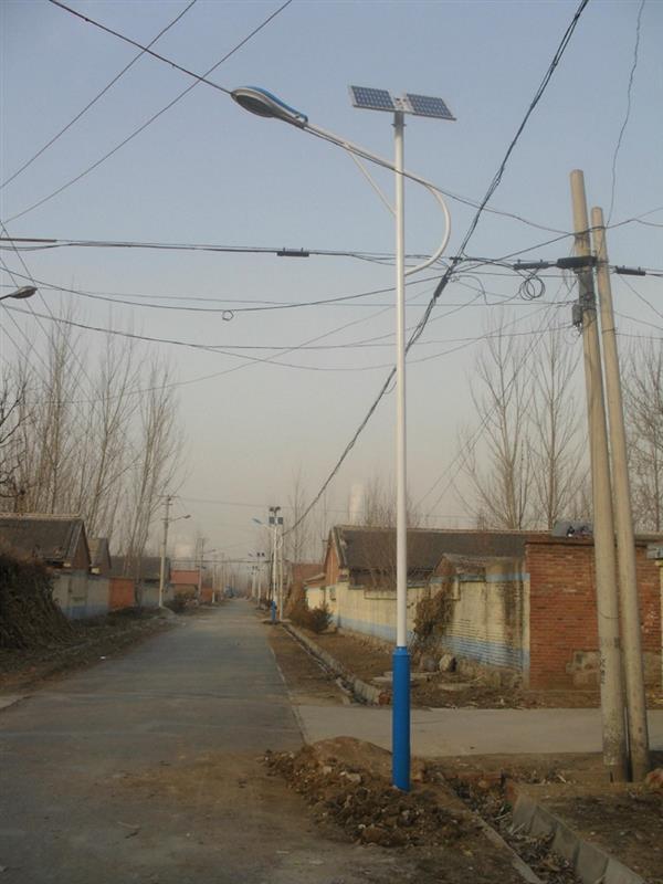 质量一般的河南农村太阳能路灯6米海螺臂
