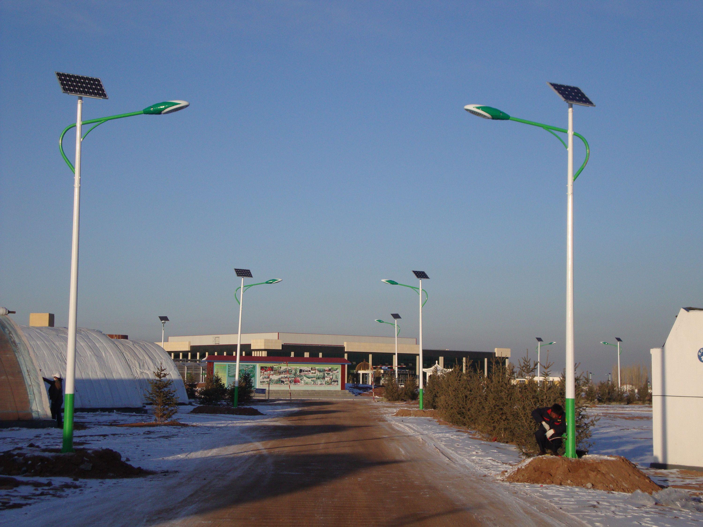 河南省新乡农村6米太阳能路灯