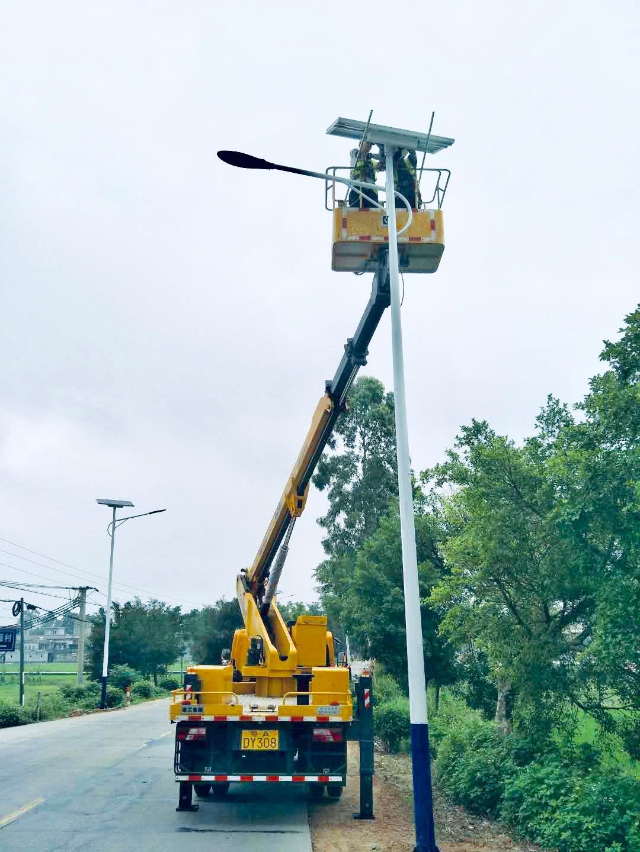 河南省周口市6米太阳能路灯维修