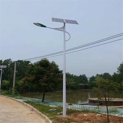 河南省三门峡市6米锂电池版太阳能路灯