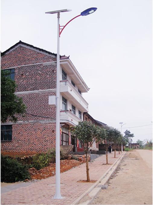 河南农村道路太阳能路灯