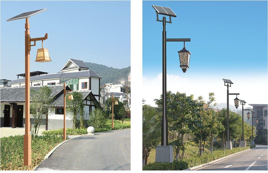 河南公园景点用太阳能庭院灯