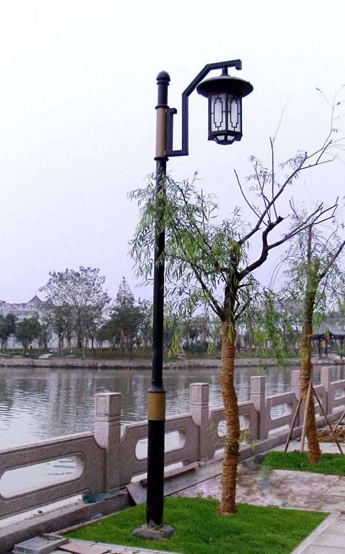 南庭院灯LED灯头4米公园款