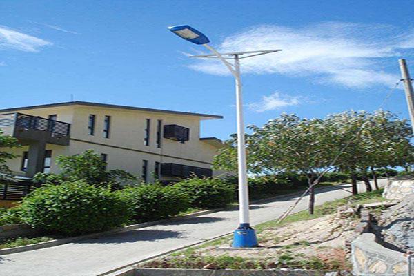 河南农村3.5米太阳能路灯