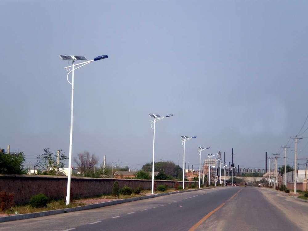河南周口农村6米太阳能路灯