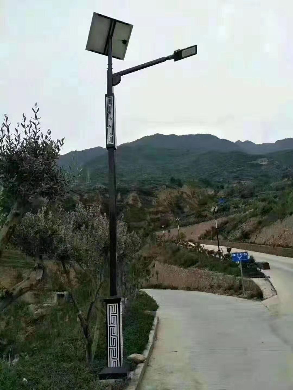 河南洛阳回形纹太阳能路灯
