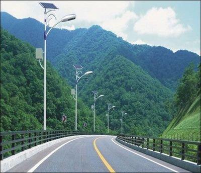 河南省平顶山市山区道路太阳能灯