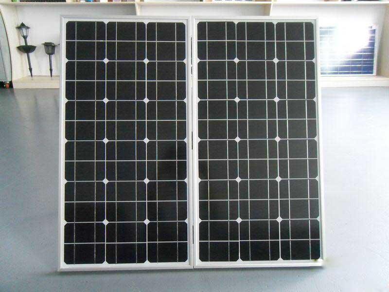 河南太阳能灯厂家生产的太阳能光伏板