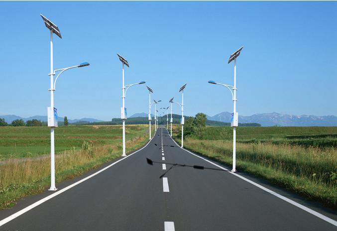 河南6米乡村太阳能路灯
