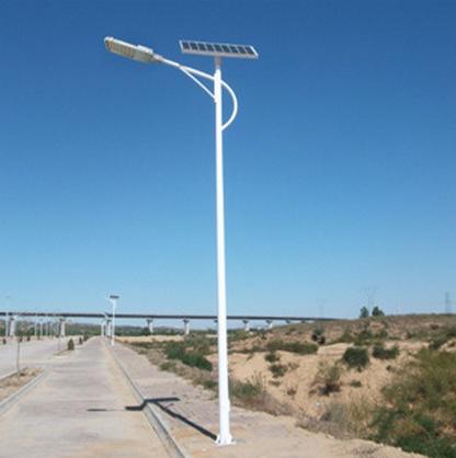 河南省太阳能灯海螺臂灯杆