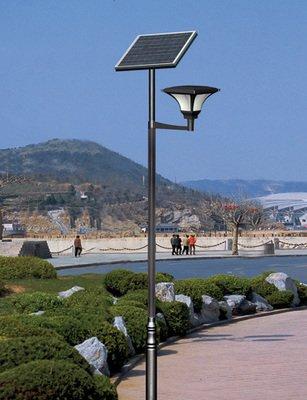 河南郑州公园太阳能庭院灯