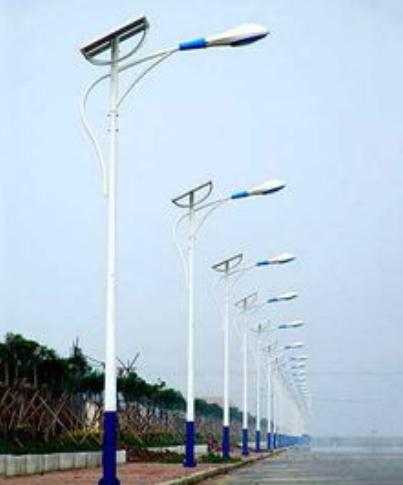 河南郑州6米太阳能LED路灯