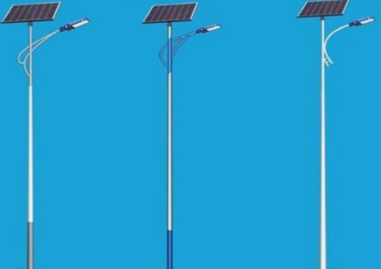 郑州太阳能路灯常用灯杆