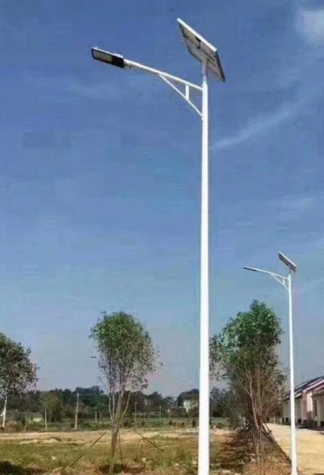 河南路灯之金豆灯头A字臂太阳能灯