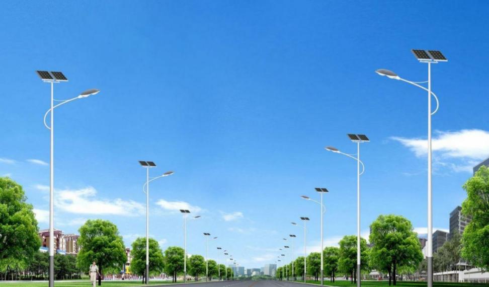 河南路灯之等径杆太阳能灯