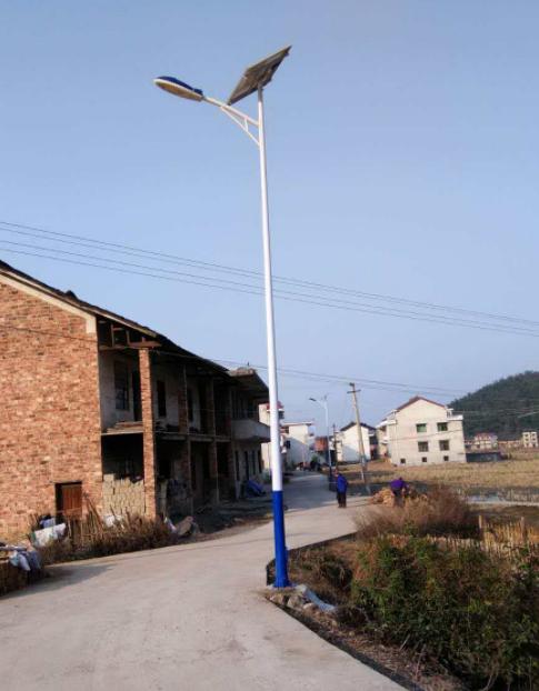 河南路灯之农村A字臂太阳能灯