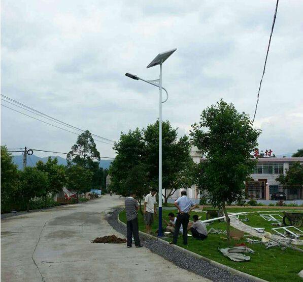 郑州太阳能路灯安装步骤