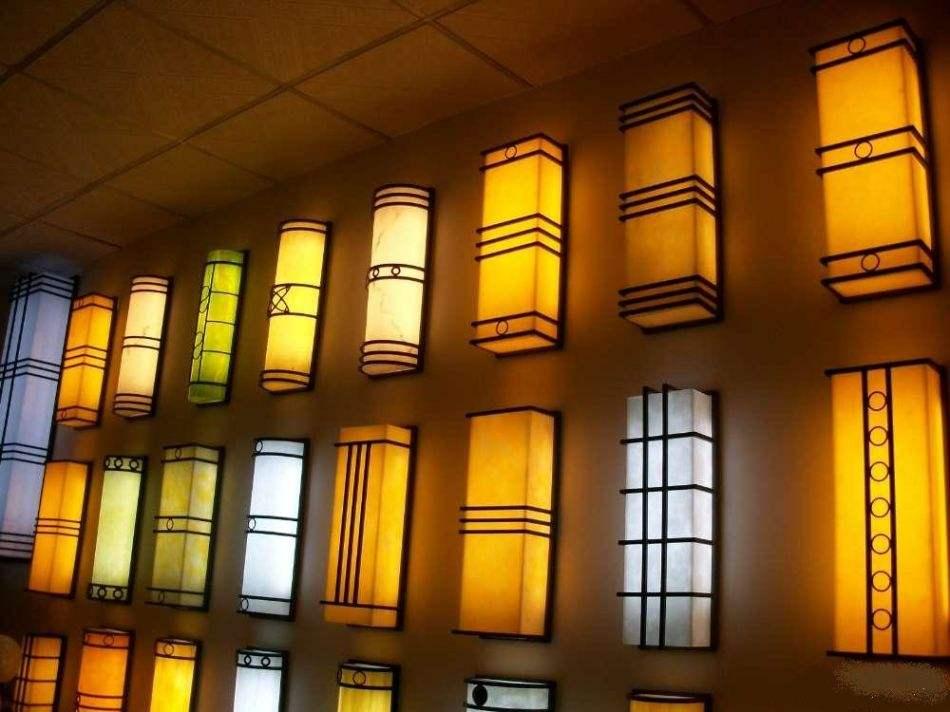 郑州景观灯之云石壁灯