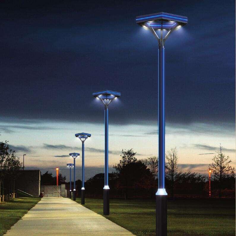 河南庭院灯厂家的庭院灯安装步骤