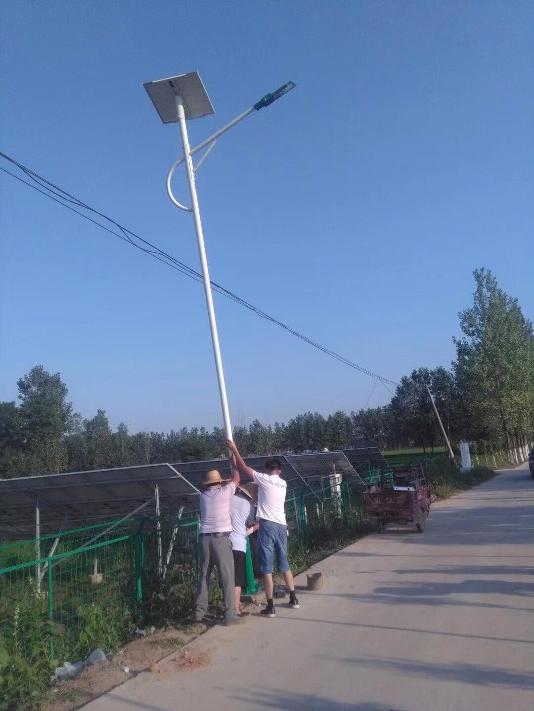 郑州太阳能路灯立杆安装注意点