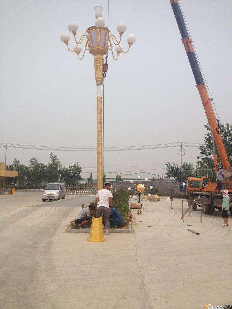 河南LED路灯厂家介绍如何安装中华灯