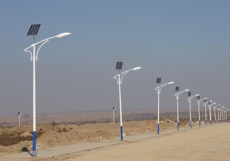 河南省郑州市某乡村太阳能路灯项目