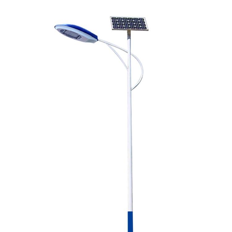 河南郑州常用的海螺臂太阳能路灯