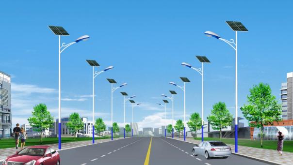 河南省郑州市乡村太阳能路灯