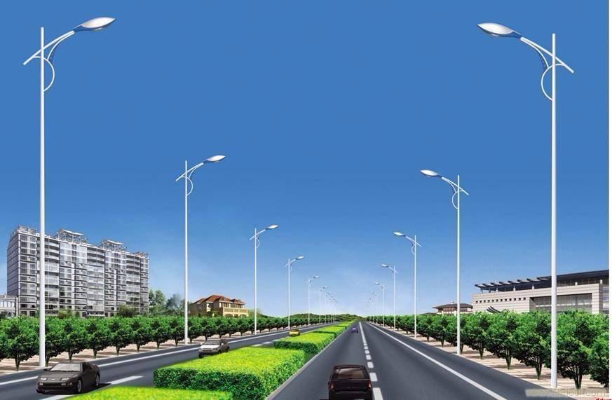 河南LED路灯在城市郊区使用