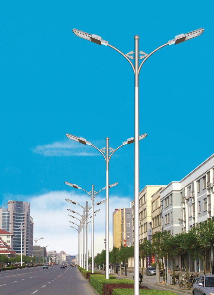 常规LED路灯使用在城市道路上