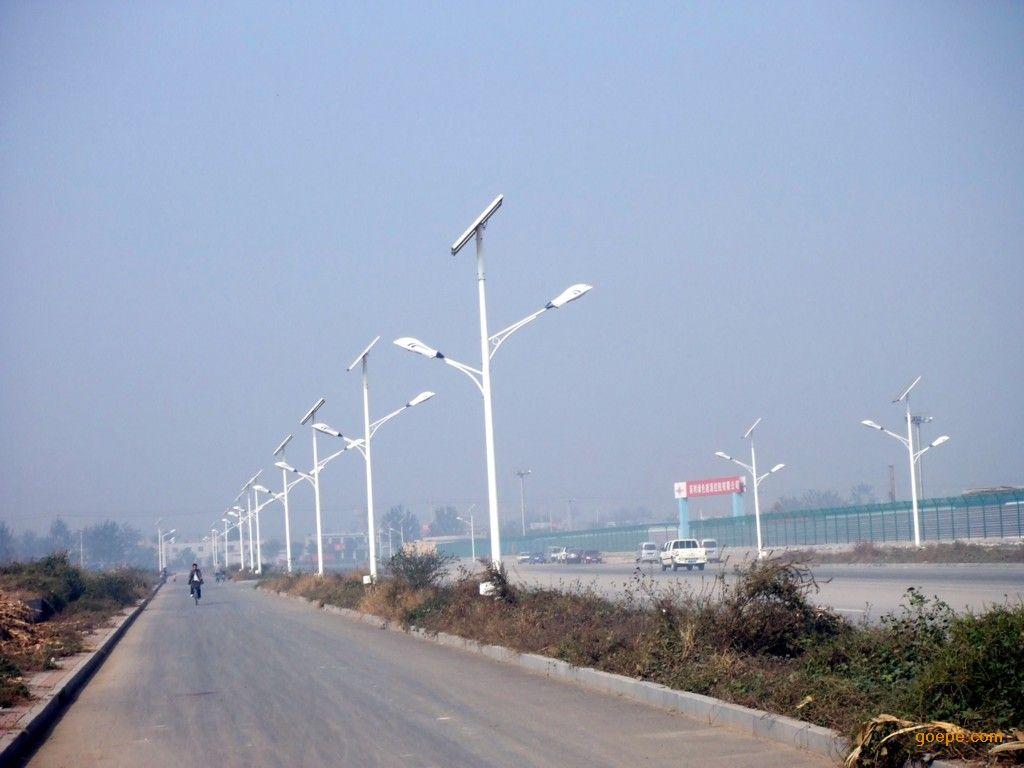 河南省郑州市荥阳市太阳能路灯项目